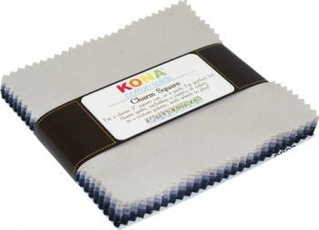 Kona Cotton Charm Squares - Silent Film Palette by Robert Kaufman