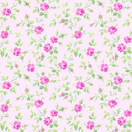Sausalito Cottage LH13059 Pink Small Floral by Lakehouse
