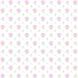 Sausalito Cottage LH13065 Pink Rosebuds by Lakehouse