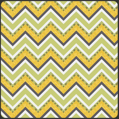 LillyBelle LB-1103 Lime Vintage Fence by Bari J for Art Gallery