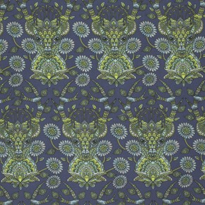 Moonshine PWTP055 Indigo Deer Me by Tula Pink for Free Spirit