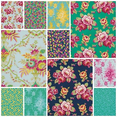 Lucky Girl 9 Fat Quarter Set by Jennifer Paganelli for Free Spirit