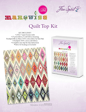Marquise Quilt Kit by Tula Pink for Free Spirit