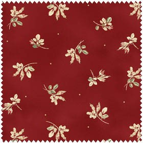Tomorrow's Promise 2018-R Small Red Floral by Maywood Studio