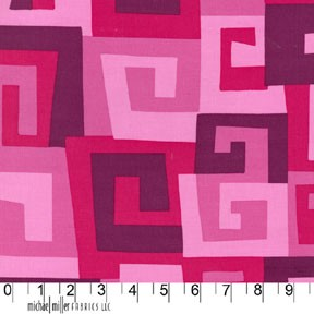 Maze PC5747 Fuschia by Michael Miller