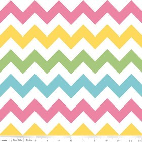 Chevron Medium C320-03 Girl by Riley Blake EOB .19 yd