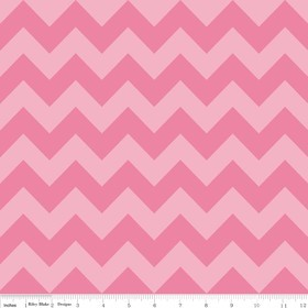 Chevron Medium C380-71 Hot Pink Tonal by Riley Blake