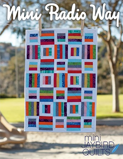 Mini Radio Way Quilt Pattern by Jaybird Quilts