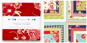 Miss Kate Charm Pack by Bonnie & Camille for Moda