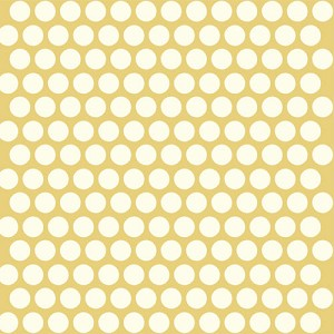 Mod Basics Organic MB-01 Cream on Sun Dottie by Birch Fabrics EOB