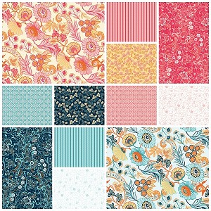 Modern Lace 12 Fat Quarter Set by Amanda Murphy for Blend