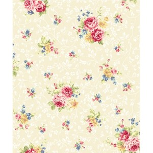 Elegant Roses QMS30752-13A in Cream by Kilala