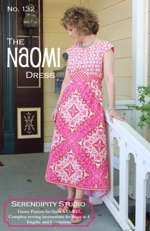 The Naomi Dress Pattern by Serendipity Studio