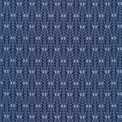 Wildwood Organic 1247-12 Navy Climbing Vine by Cloud 9