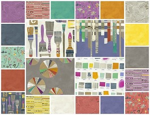 Paint 22 Fat Quarter Set by Such Designs for Windham