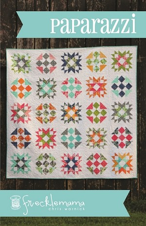 Paparazzi Quilt Pattern by Frecklemama