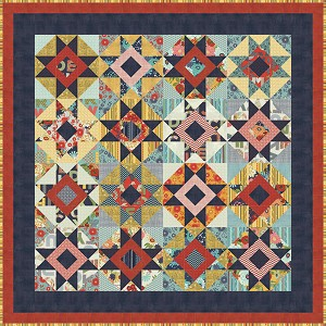 Picnic Basket Quilt Pattern by Basic Grey for Moda