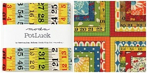 Potluck Charm Pack by American Jane for Moda