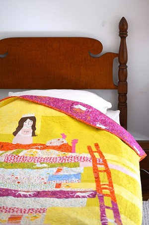 The Princess and the Pea Quilt Kit by Heather Ross for Windham