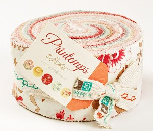 Printemps Jelly Roll by 3 Sisters for Moda