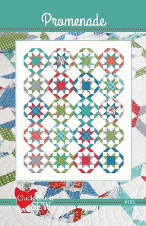 Promenade Quilt Pattern by Freckled Whimsy