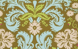 Belle PWAB109 Olive Acanthus by Amy Butler for Westminster EOB