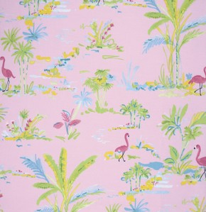 Chinoiserie Chic PWDF194 Pink Paradise by Free Spirit