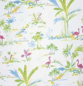 Chinoiserie Chic PWDF194 White Paradise by Free Spirit