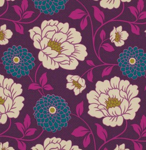 Bungalow PWJD069 Lavender Dahlia by Joel Dewberry for Free Spirit