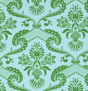 Circa PWJP072 Green Lilly by Jennifer Paganelli for Free Spirit