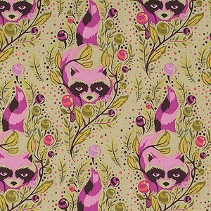 Acacia PWTP037 Canyon Raccoon by Tula Pink for Free Spirit