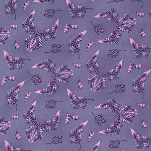 Acacia PWTP039 Blueberry Butterfly Wings by Tula Pink for Free Spirit
