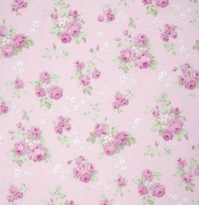 Slipper Roses PWTW090 Pink Wild Rose by Free Spirit