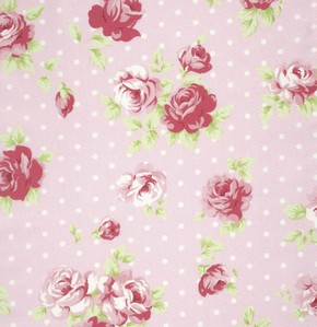 Lulu Roses PWTW093 Pink Lilly by Tanya Whelan for Free Spirit