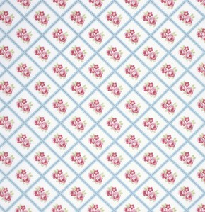 Lulu Roses PWTW095 Sky Libby by Tanya Whelan for Free Spirit
