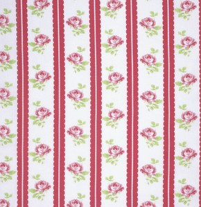 Lulu Roses PWTW096 Red Lilah by Tanya Whelan for Free Spirit