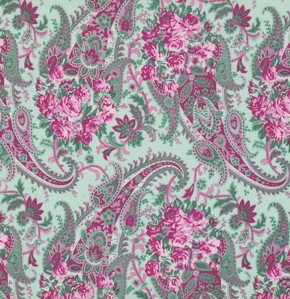 Billet-Doux PWVM094 Sky Floral Paisley-Verna Mosquera for Free Spirit