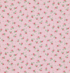 Rosewater PWVM108 Cotton Candy Rosebud by Free Spirit