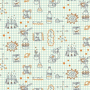 Robotic Organic RG-17 Graph Paper by Rebekah Ginda for Birch