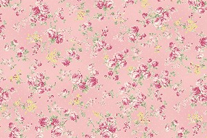 RURU Bouquet RU2200-17B Pink Medium Floral by Quilt Gate