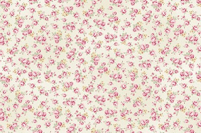 RURU Bouquet RU2200-18A Ecru Small Floral by Quilt Gate