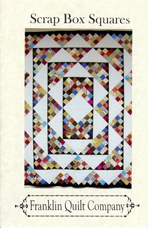 Scrap Box Squares Quilt Pattern by Franklin Quilt Co