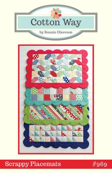 Scrappy Placemats Pattern by Cotton Way