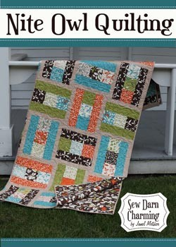 Sew Darn Charming Quilt Pattern by Nite Owl Quilting