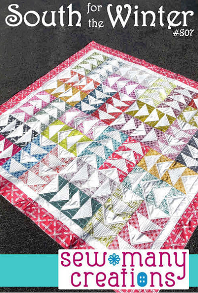 South for the Winter Quilt Pattern by Sew Many Creations