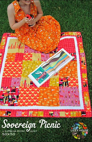 Sovereign Picnic Quilt Pattern by Lizzy House
