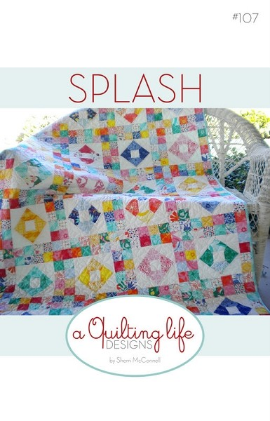 Splash Quilt Pattern by A Quilting Life Designs
