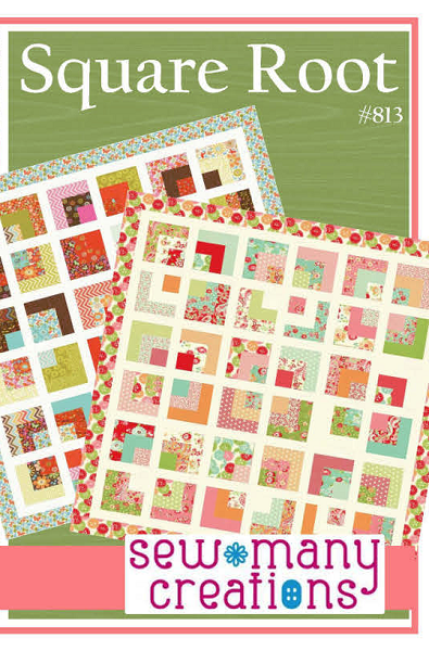 Square Root Quilt Pattern by Sew Many Creations