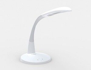 Stella LED Lamp in White by Stella Lighting