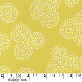 Stitch Circle CX5946 Mustard by Michael Miller